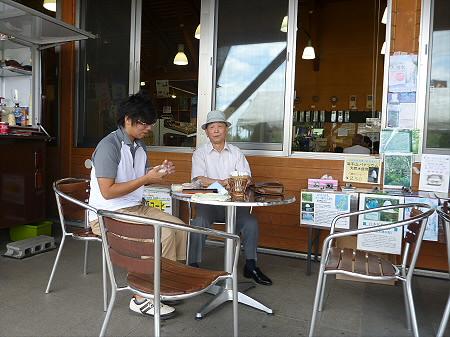 お昼休みの一時01(2012.9.7)