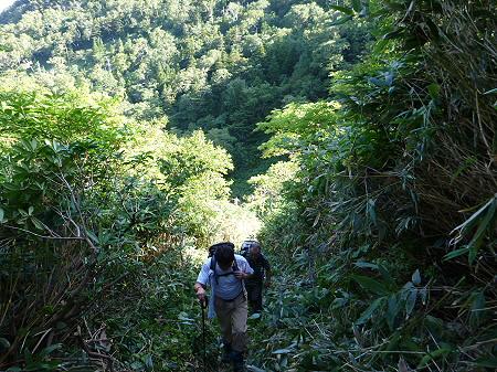 岩手山七滝コース31(2012.9.8)