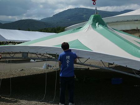 ハチマンタイダイナマイト準備04(2012.9.13)