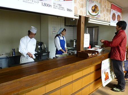レストランしらかば やわらかステーキランチ15(2012.2.22)