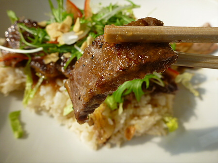 レストランしらかば やわらかステーキランチ11(2012.2.22)