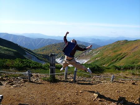 紅葉の八幡平へvol.400(2012.10.16) ジャンプ!