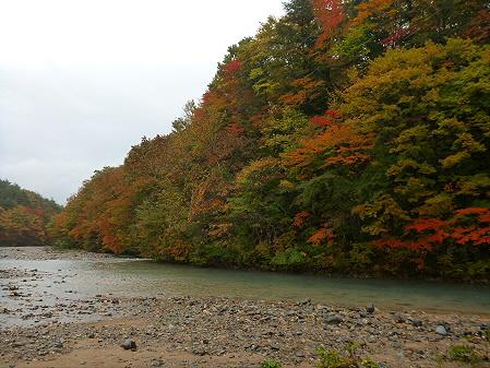 松川渓谷玄武岩04(2012.10.23)