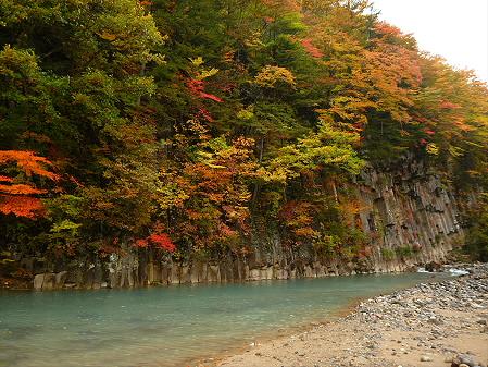 松川渓谷玄武岩06(2012.10.23)