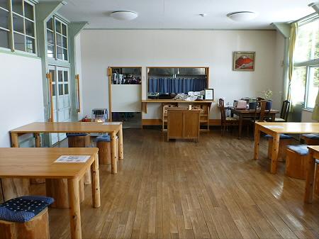 学校の宿 希望の丘「豆腐のカレー」09(2012.4.8)
