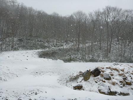 松川渓谷玄武岩06(2012.12.5)