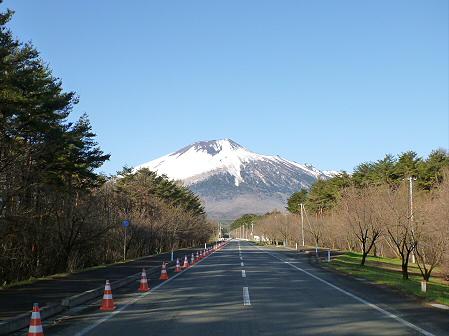 上坊牧野入口付近の桜並木01(2012.4.28)