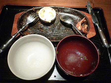 チーズハンバーグ&海老フライ10(2012.5.7)らんぷ