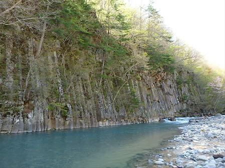 松川渓谷玄武岩08(2012.5.13)