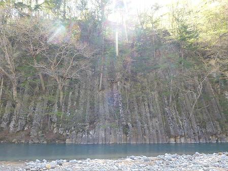 松川渓谷玄武岩09(2012.5.13)