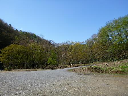 松川渓谷玄武岩12(2012.5.13)