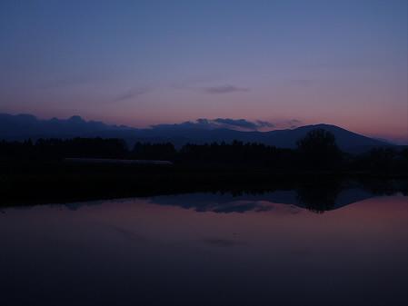 夕方、田んぼのある風景05(2012.5.18)