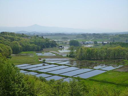 岩手山と田んぼ02(2012.5.20)