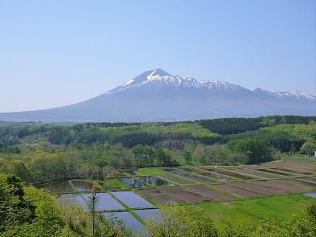 岩手山と田んぼ04(2012.5.20)