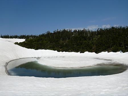 残雪の八幡平09(2012.5.20)