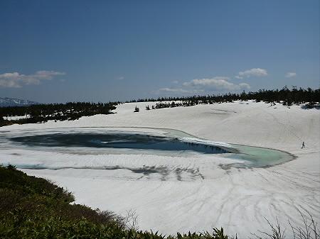 残雪の八幡平18(2012.5.20)