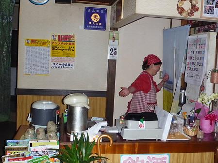 まるかん食堂の豆乳あとかけラーメン07(2012.5.24)