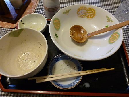 まるかん食堂の豆乳あとかけラーメン21(2012.5.24)