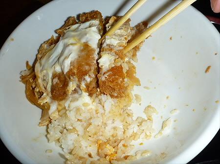 味処佐和10(2012.6.8)かつ丼
