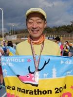 FB141214奈良マラソンのゴール後DSCF9344