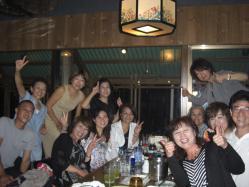 沖縄居酒屋で