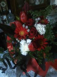かおちゃん達からのお花