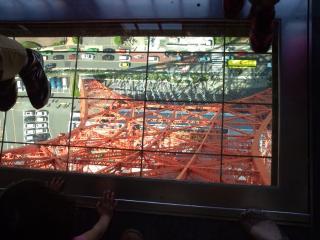 東京タワー覗き窓