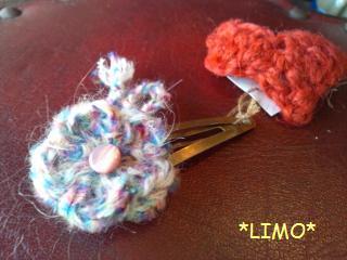 編み花パッチン