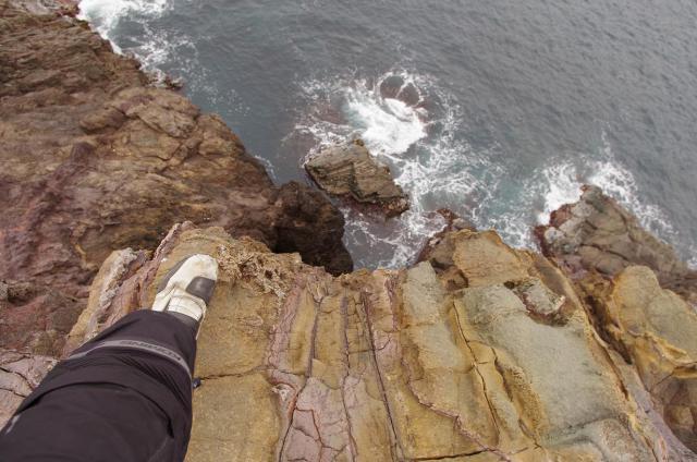 14断崖絶壁
