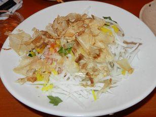 日本橋 ○金+野菜サラダ