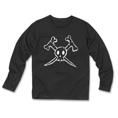 Father Skull_長袖tシャツ