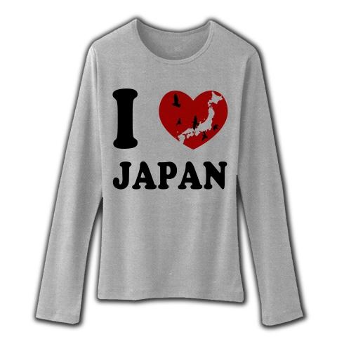 I Love Japan_t_グレー
