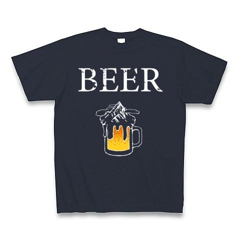 ビールと雪山_t