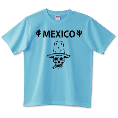 Mexico Skull_アクアブルー