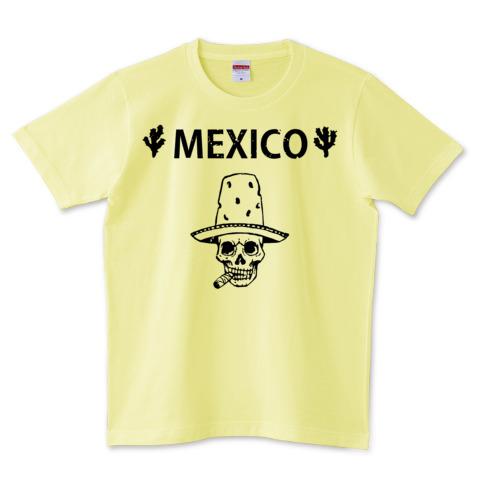 Mexico Skull_ライトイエロー