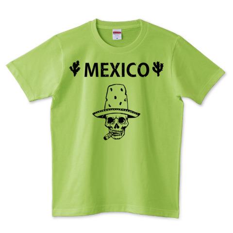Mexico Skull_ライムグリーン