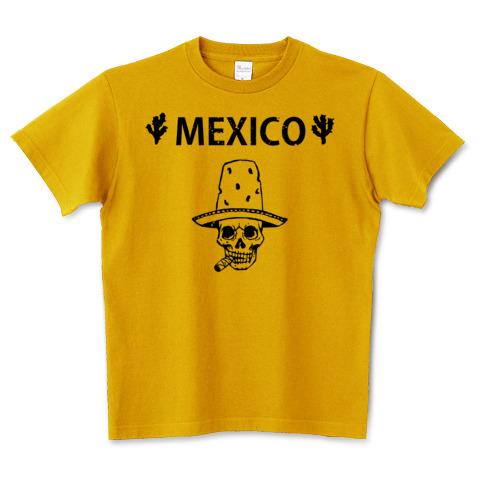 Mexico Skull_マスタード