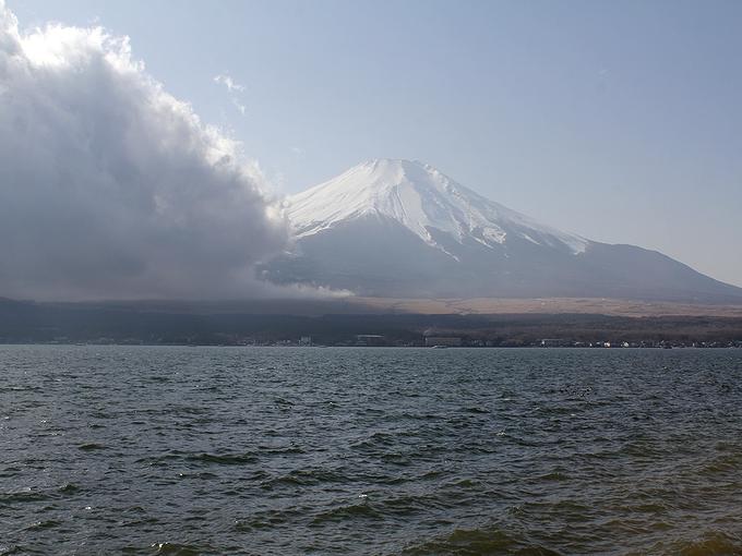 富士山 山中湖半より(2012年12月)
