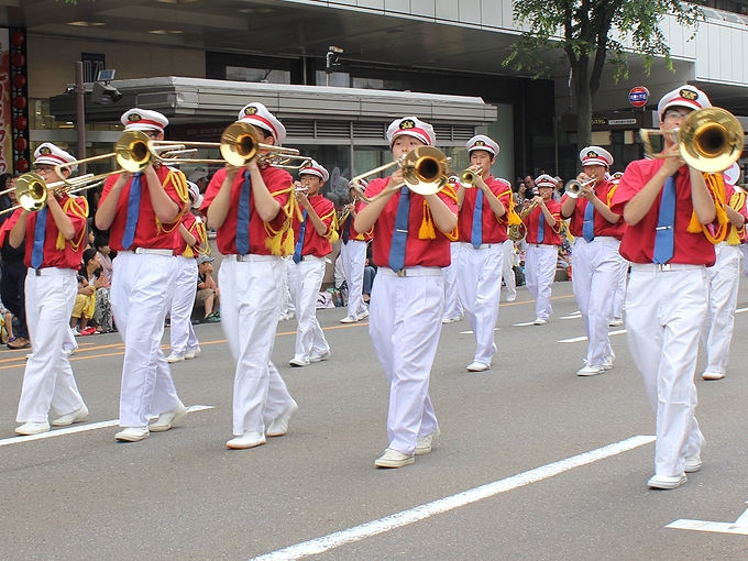 百万石行列のパレード
