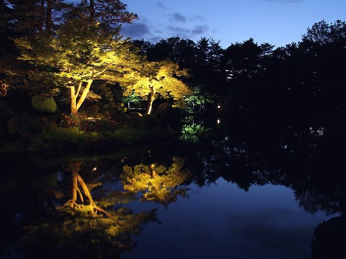 兼六園ライトアップ「初夏の段」 霞ヶ池