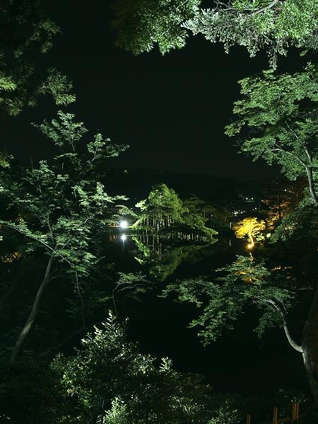 兼六園ライトアップ「初夏の段」 栄螺山より霞ヶ池
