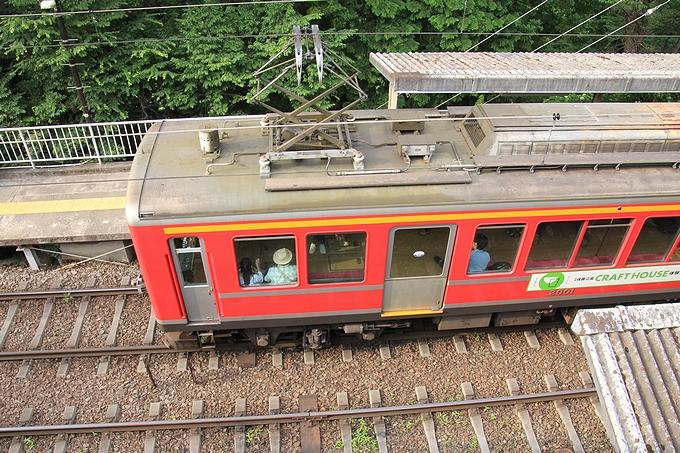 箱根登山電車 大平台駅