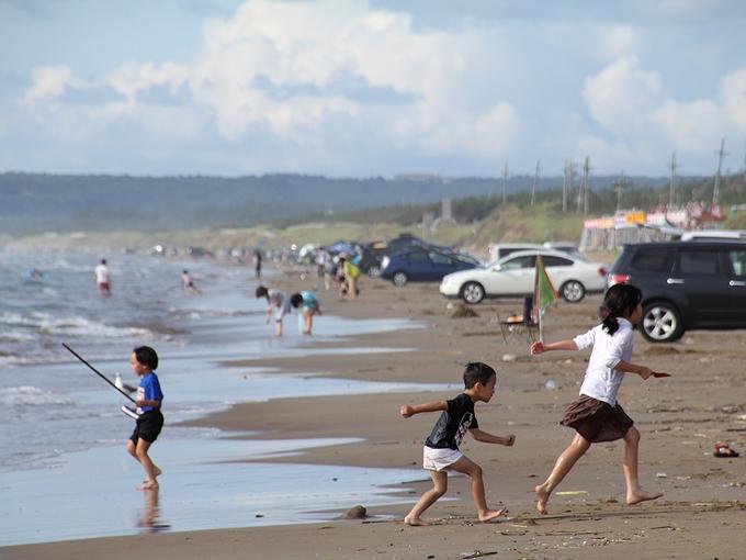 海の日 千里浜なぎさドライブウェイ
