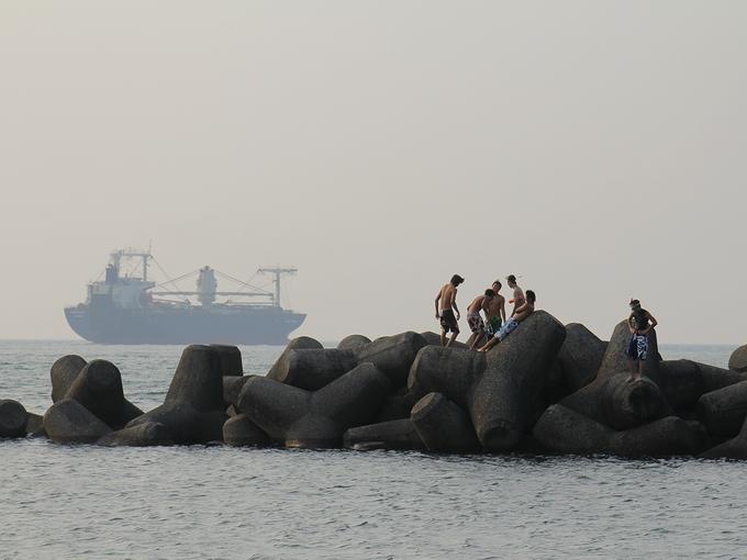 岩瀬浜海水浴場 富山県富山市