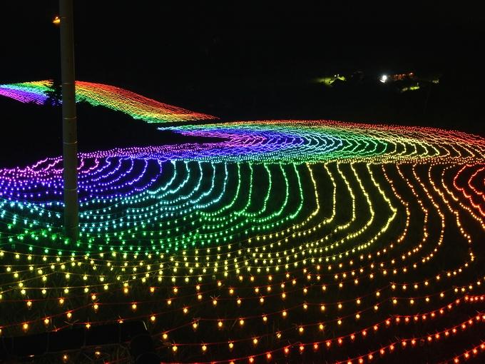 牛岳温泉スキー場 虹のかけはし
