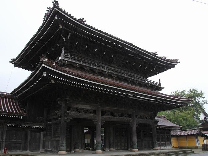 井波別院瑞泉寺 山門