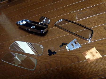 Rear view mirror mercedes w113 repair