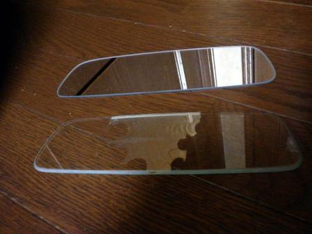 Rear view mirror mercedes w111 repair