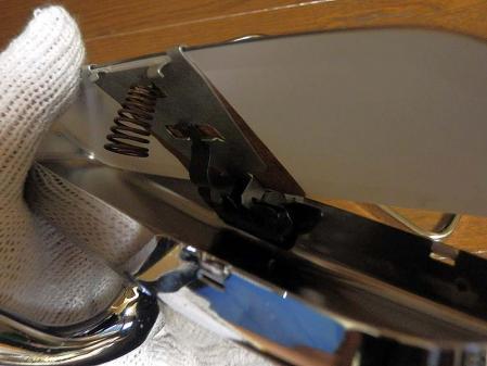 Rear view mirror mercedes w100 repair