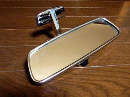 Rear view mirror mercedes w123 repair